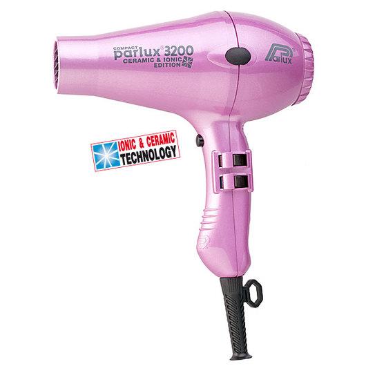 Фен Parlux 3200 Compact Ceramic&Ionic Pink (розовый)