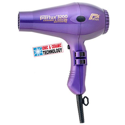 Фен Parlux 3200 Compact Ceramic&Ionic Violet (фиолетовый)