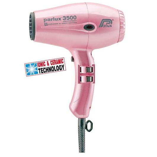 Фен Parlux 3500 Supercompact Ionic&Ceramic Pink (розовый)